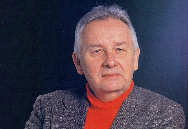 "Henryk Mikołaj Górecki. Photo: Lech Kowalski and Włodzimierz Pniewski - scanned from Polish monthly ""Studio"" Nov/Dec 1993 page 8/Wikimedia Commons (Public Domain)"