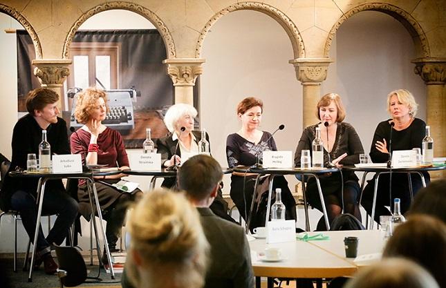 Polnische Autoren im Literarischen Colloqium Berlin.