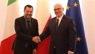 Matteo Salvini: Polska i Włochy będą nowymi bohaterami Europy