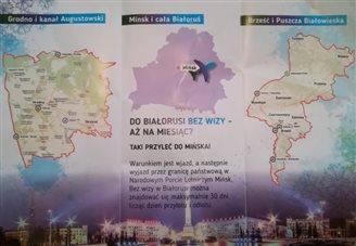 Беларуска запрашае замежнікаў скарыстацца бязьвізам
