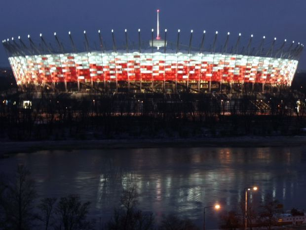 The National Stadium in Warsaw. Photo: PAP