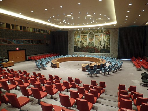 UN Security Council Chamber photo: Thomas Park source: Wikimedia Commons