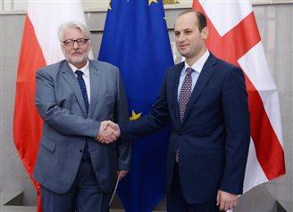 Глава МИД Польши в Тбилиси: Мы будем защищать интересы Грузии также в СБ ООН