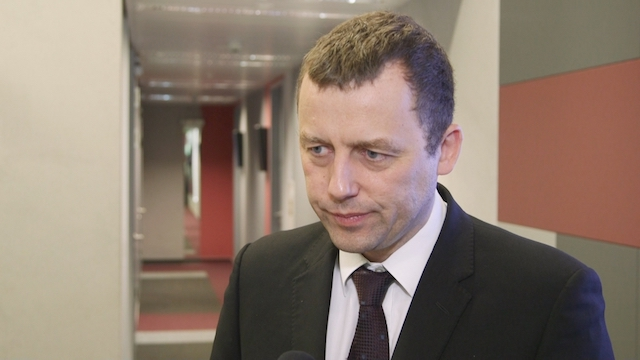 Заступник міністра інфраструктури, уповноважений уряду у справах Центрального комунікаційного порту Міколай Вільд