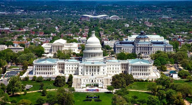 Waszyngton - stolica Stanów Zjednoczonych Ameryki