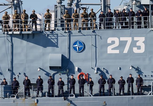 Ракетний фрегат Генерал Т. Косьцюшко у порті Ґдиня. 16 вересня 2016
