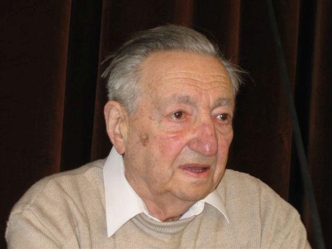 Марек Эдельман (фото сделано в 2005 году).