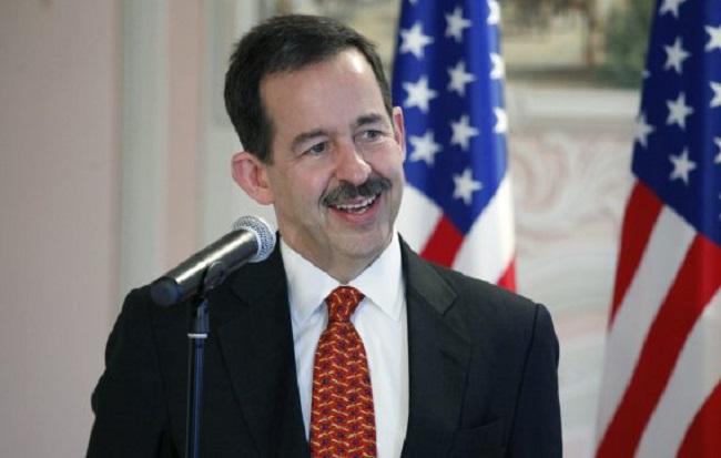 US Ambassador Stephen Mull.