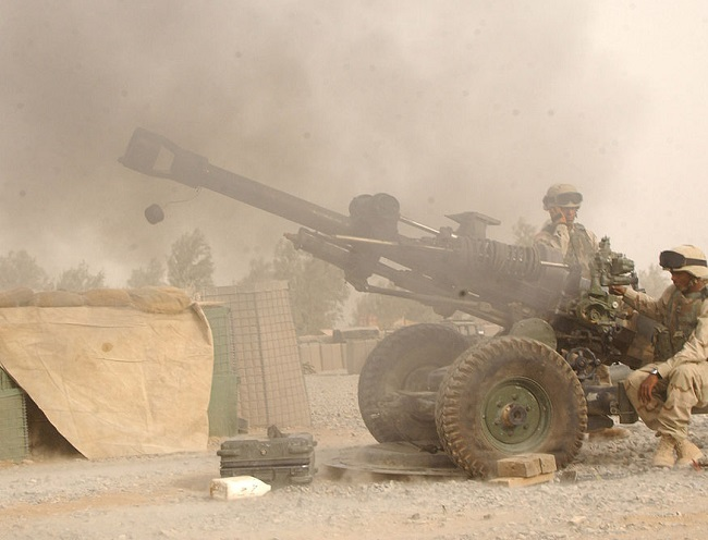 Illustrative photo of a US M119 howitzer. Picture: commons.wikimedia.org/http://www.defenselink.mil/photos/Sep2004/040917-A-0363C-010.html