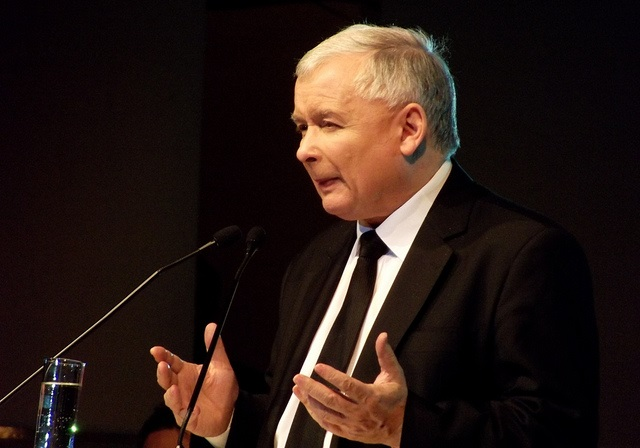 Law and Justice leader Jarosław Kaczyński. Photo: Flickr.com/Piotr Drabik