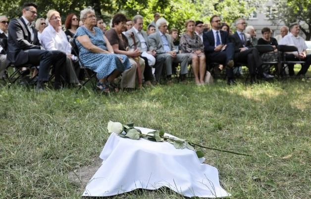 Сад праведников в Варшаве