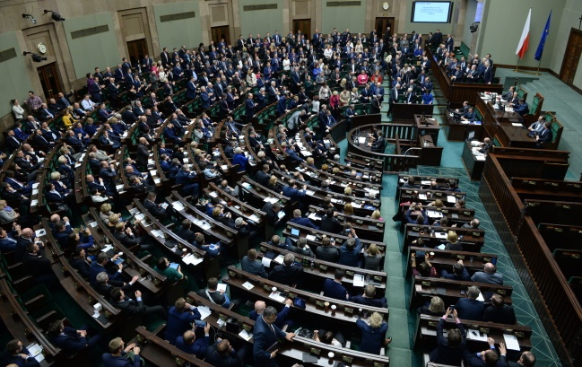 MPs voted in the Sejm on Wednesday. Photo: PAP/Jacek Turczyk