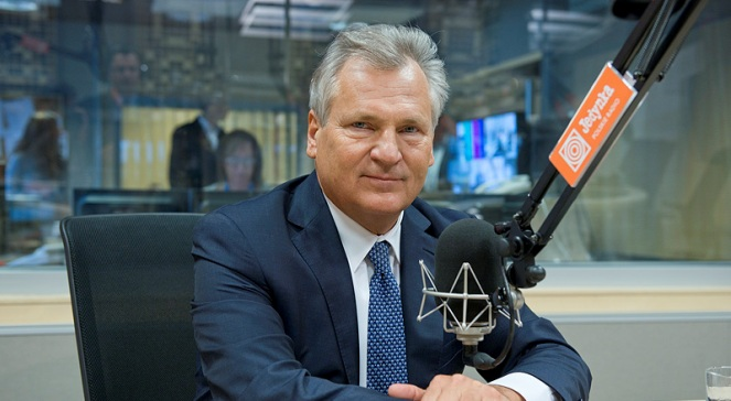 Александр Квасьневский. Фото: Wojciech Kusiński/PR