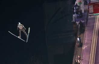 Ski jumping: Poland's Stoch fourth in World Cup event