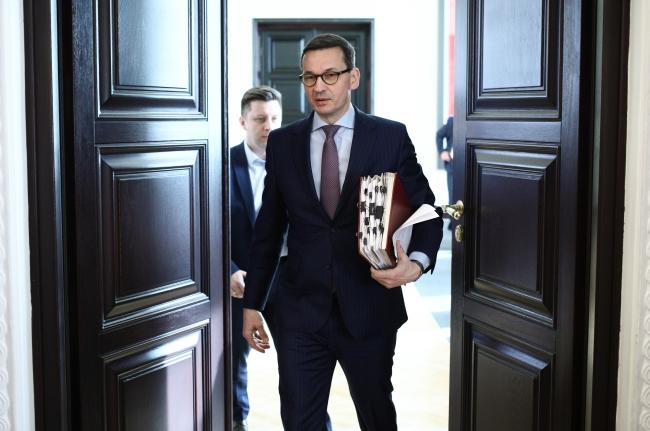 Prime Minister Mateusz Morawiecki. Photo: PAP/Leszek Szymański
