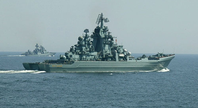 """Krążownik rakietowy """"Piotr Wielki"""""""