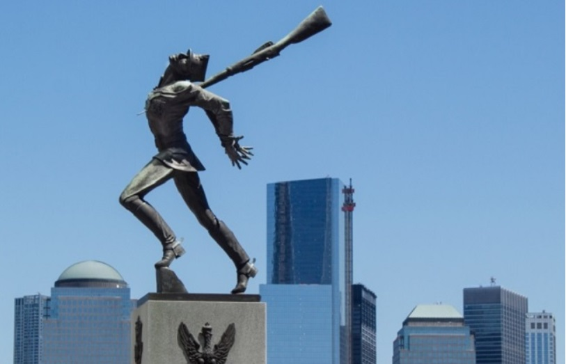 The Jersey City monument to the 1940 Katyn Massacre