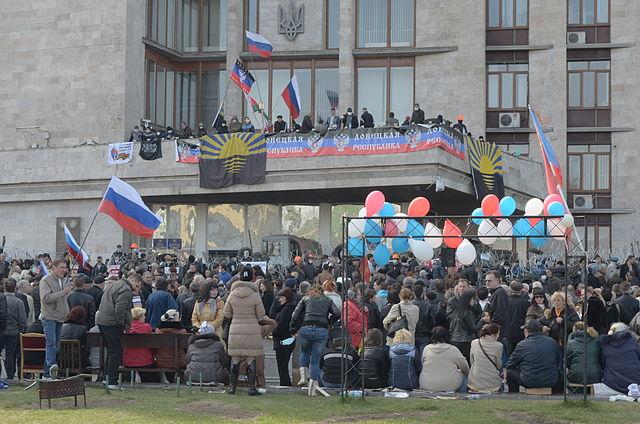Донецьк, 7 квітня 2014 року