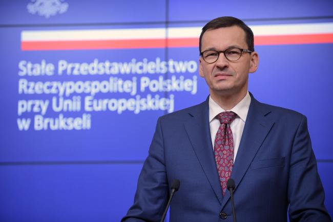 PM Mateusz Morawiecki.