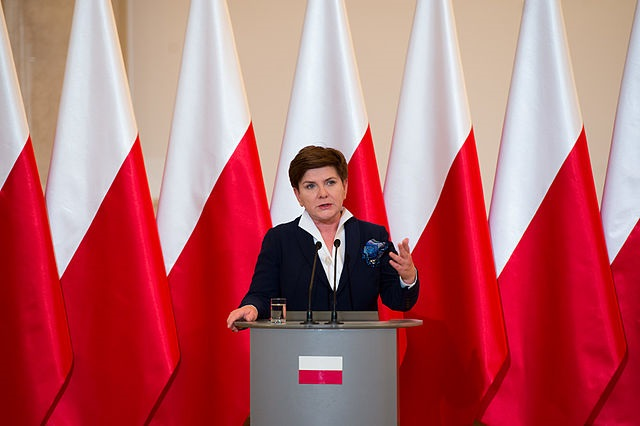 Beata Szydło. Photo: P. Tracz/Office of the Prime Minister of Poland/Wikimedia Commons
