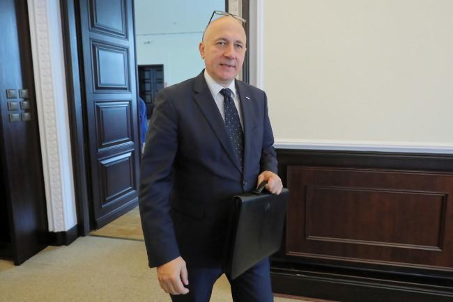 Глава МВД Польши Йоахим Брудзиньский
