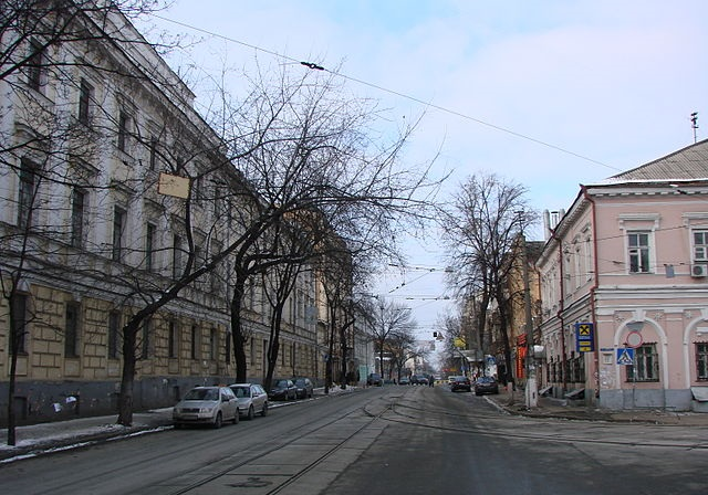 Part of the street in which Ivashchenko says he was attacked. Photo: Olexa-Kyiv/Wikimedia Commons (Public Domain)