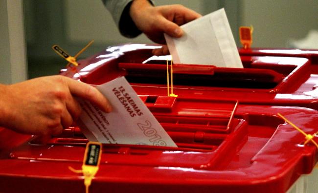 Парламентські вибори - Латвія