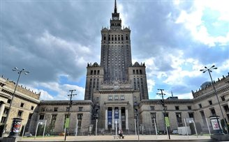 Runners to scale Warsaw landmark