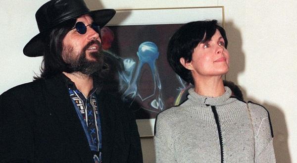 Чеслав Немен с женой Малгожатой