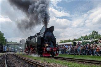 Vintage train bonanza in southern Poland