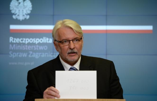 Міністр закордонних справ Вітольд Ващиковський
