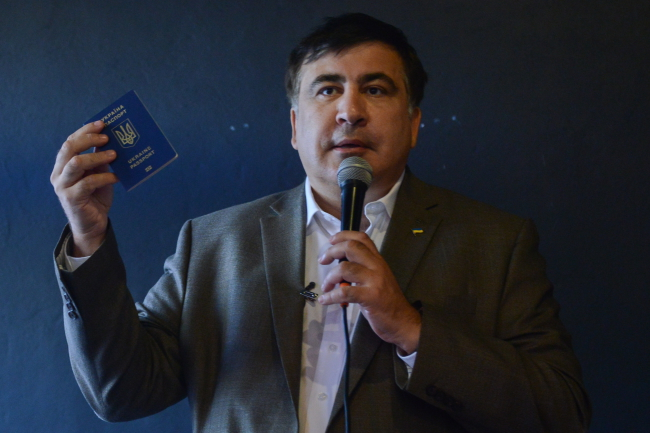 Klimkin denies Saakashvili's claims of having Russian citizenship