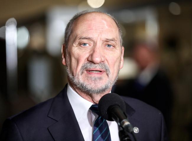 Міністар нацыянальнай абароны Польшчы Антоні Мацярэвіч