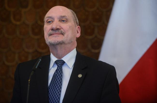 Министра обороны Польши Антони Мацеревич.