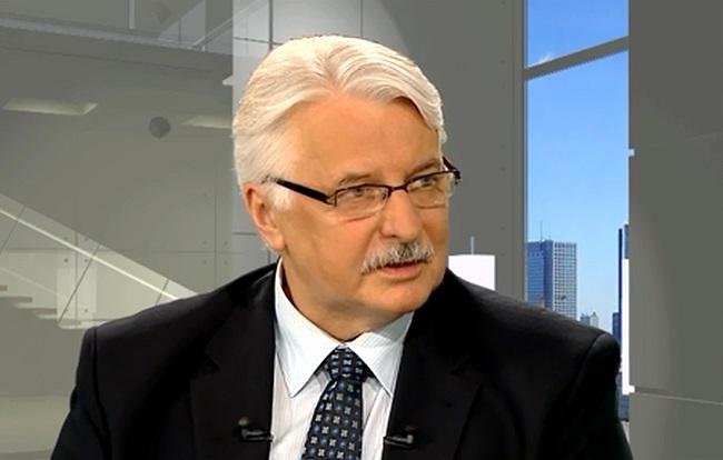 Minister Witold Waszczykowski.