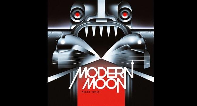 """Okładka albumu """"Night Train"""" zespołu Modernmoon."""
