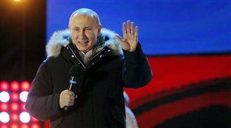 Putin gewinnt Präsidentschaftswahlen. Opposition spricht von Betrug.