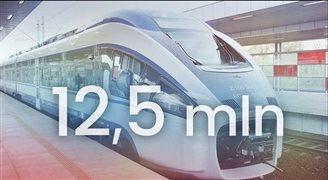 Рекорд PKP Intercity за последние 7 лет: 12,5 млн пассажиров