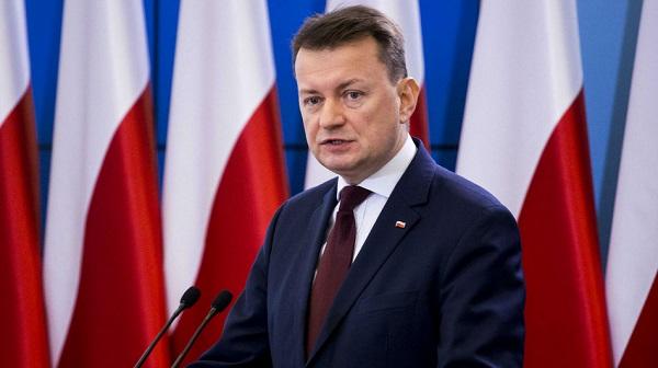 Verteidigungsminister Mariusz Błaszczak