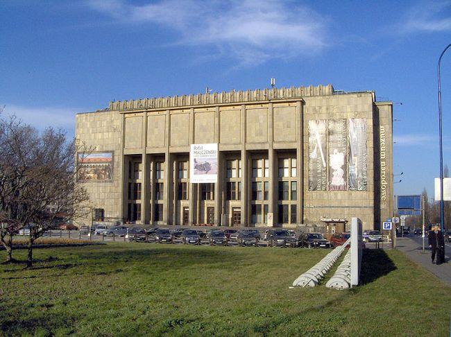 Главной здание Национального музея в Кракове.