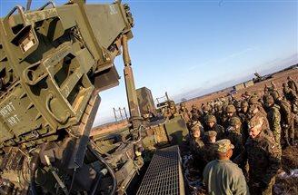 Raketen gegen die russische Aggression