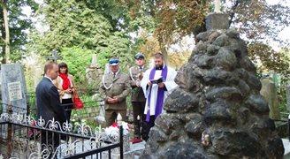 Polscy dyplomaci odwiedzają groby żołnierzy KOP
