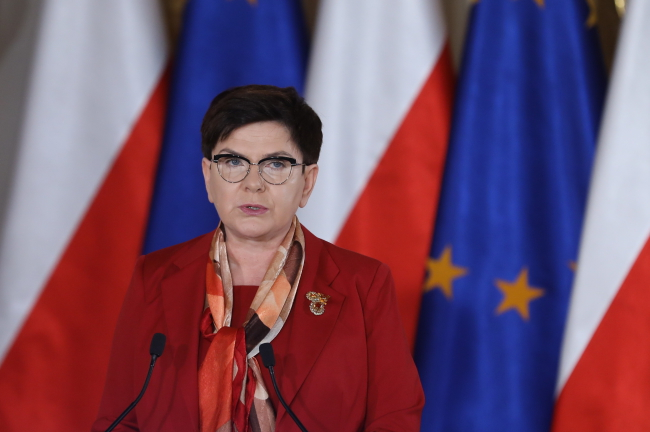 Beata Szydło. Photo: PAP/Rafał Guz.