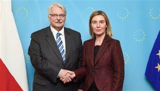 Polish FM meets Mogherini