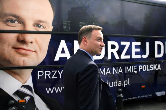 Andrzej Duda. Photo: PAP/Tomasz Gzell