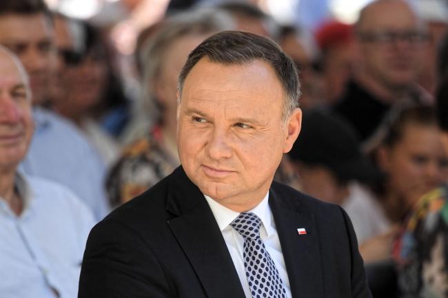 Прэзыдэнт Польшчы Анджэй Дуда.