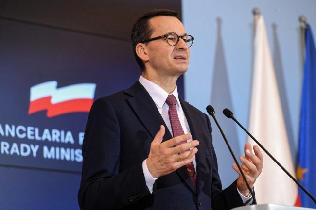 PM Mateusz Morawiecki. Photo: PAP/Piotr Nowak