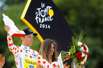 Majka celebrates Tour de France highland triumph