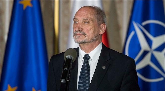 Министр обороны Польши Антони Мацеревич