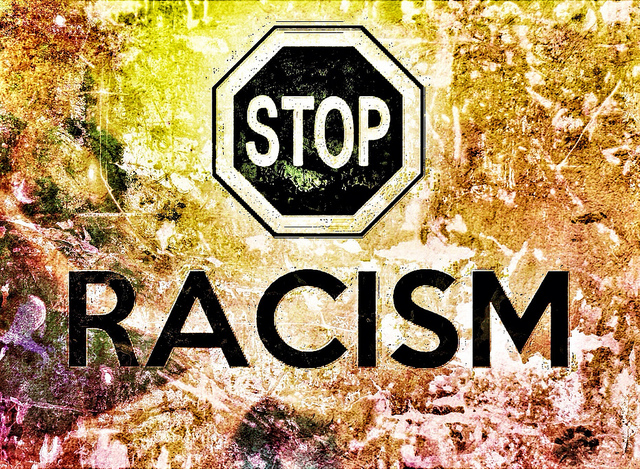 Stop Racism. Photo: Flickr/Taymaz Valley